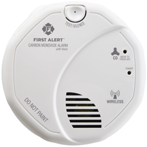 Wireless Interconnected Carbon Monoxide Alarm