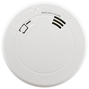 Smoke & Carbon Monoxide Alarm with Voice & Location, Battery Operated