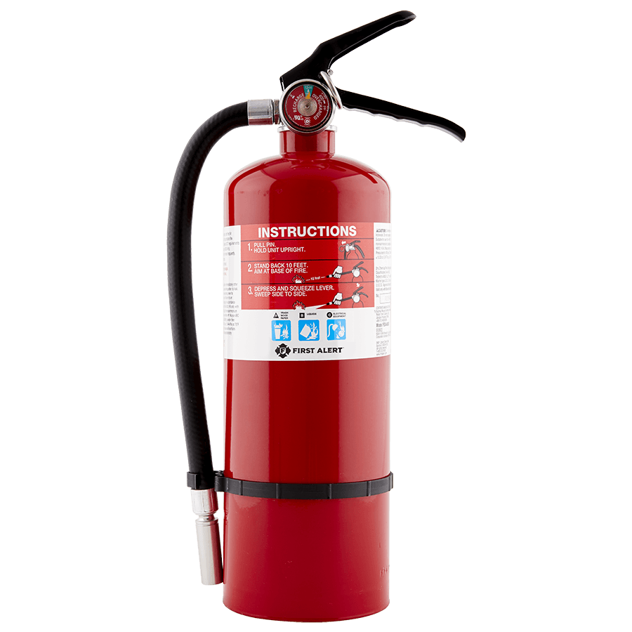 Rechargeable Heavy Duty Plus Fire Extinguisher
