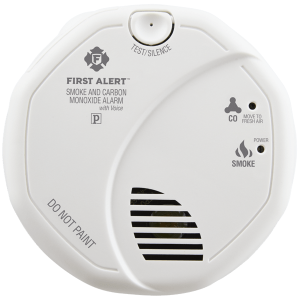 Battery-Operated Combination Smoke & Carbon Monoxide Alarm