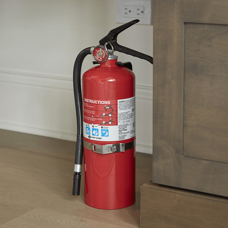 PRO5 Rechargeable Heavy Duty Plus Fire Extinguisher